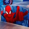 Spiderman Toddler 2 Drawer Storage Bed with Light Up Eyes