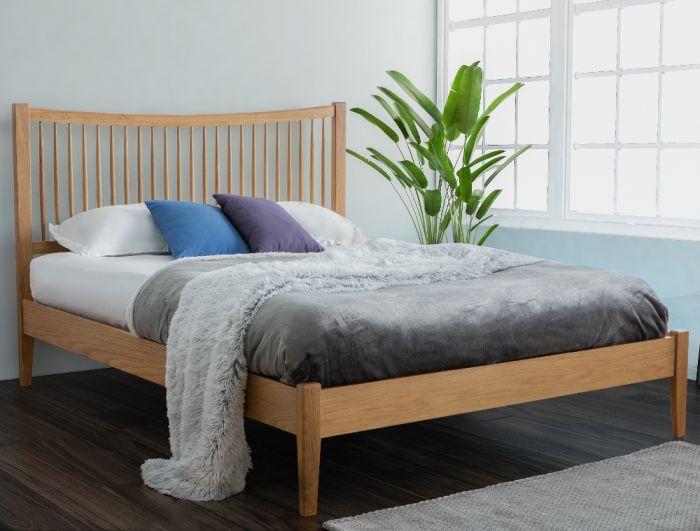Berwick Oak Wooden Bed