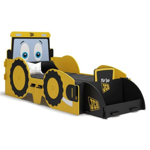 JCB Yellow Children's Digger Toddler Bed