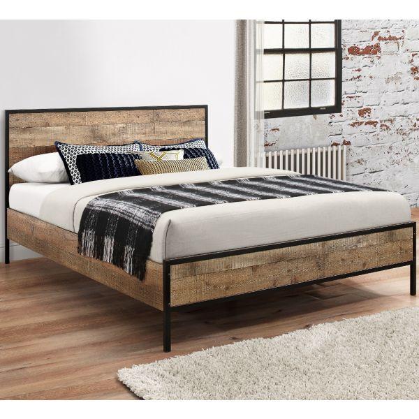 Metal Bedroom Furniture Happy Beds, Wood Metal Bedroom Furniture
