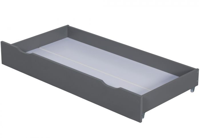 Zibo Grey Wooden Under Bed Storage Drawer