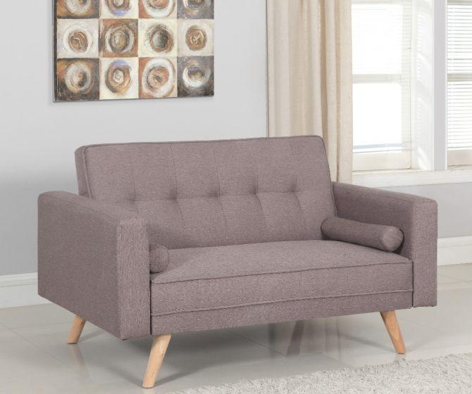 Ethan Grey Medium Fabric Sofa Bed