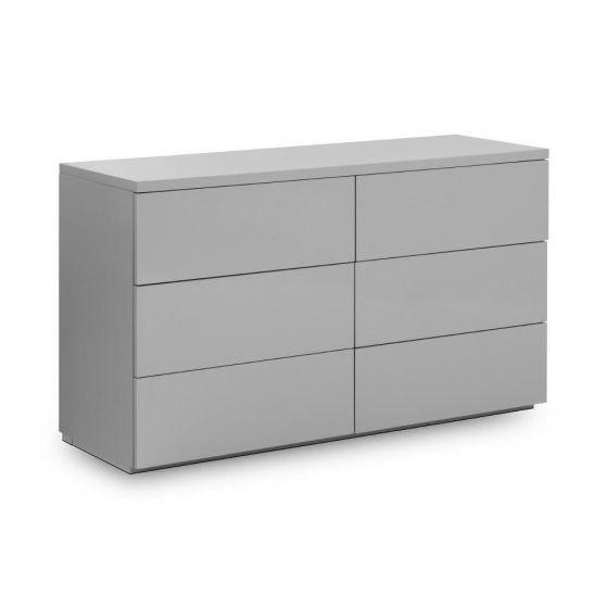 monaco-grey-wooden-high-gloss-6-drawer-chest