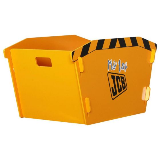 JCB Yellow Children's Digger Skip Toybox