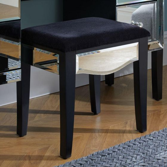 Palermo Mirrored Dressing Table Stool