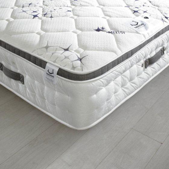 Amethyst Crystal 2500 Pocket Sprung Air Stream Pillow Top Mattress from £419.99