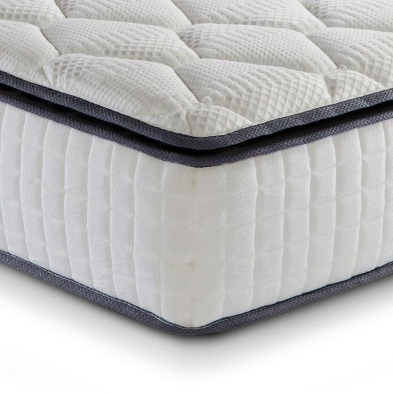 Sleep Soul Bliss 800 Pocket Spring and Memory Foam Pillowtop Mattress