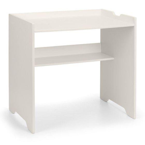 Pluto Stone White Wooden Desk