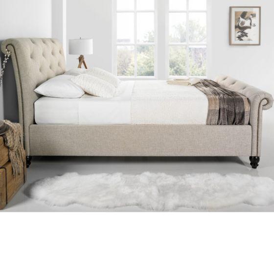 Belford Fabric Scroll Bed