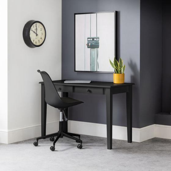 Carrington Black Wooden Desk