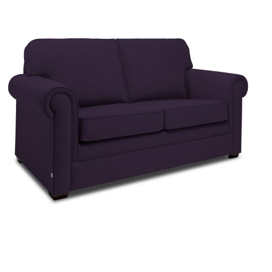 Jay-Be Classic Aubergine 2 Seater Sofa Bed