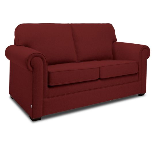 Jay-Be Classic Berry 2 Seater Sofa Bed
