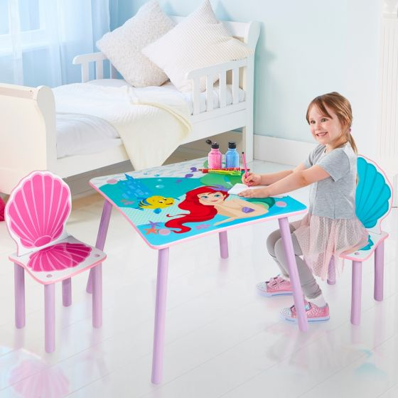Disney Princess Ariel Table and Chairs