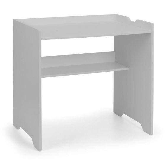 Pluto Dove Grey Wooden Desk