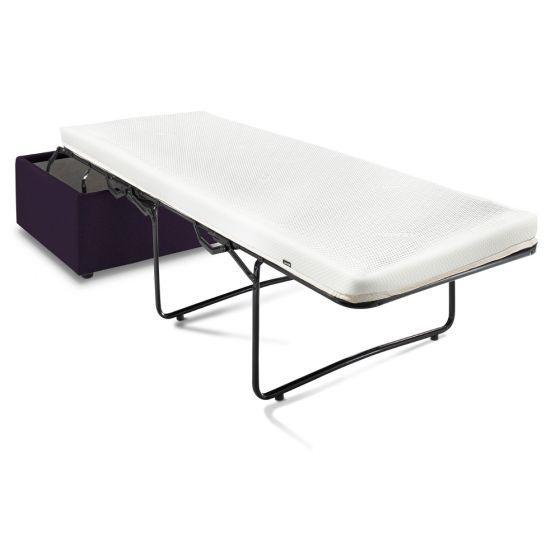 Jay-Be Aubergine Footstool Sofa Bed