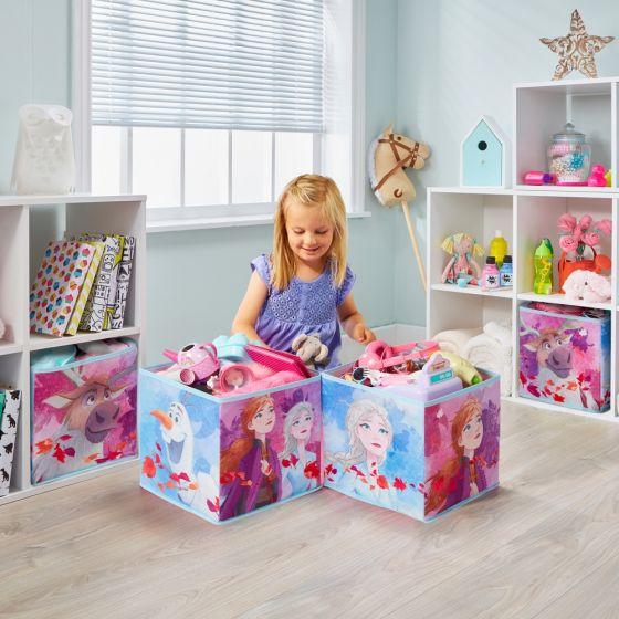 Frozen 2 Fabric Storage Cubes