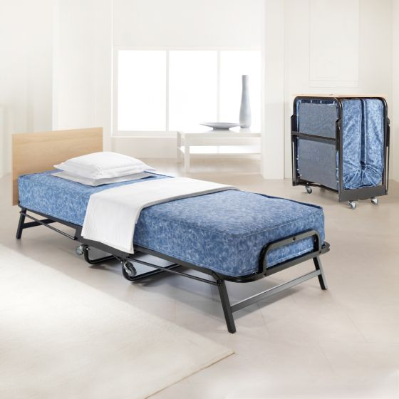 Jay-Be Crown Windermere Folding Bed with Waterproof Deep Sprung Mattress - 2ft6 Small Single