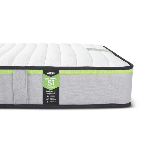 Jay-Be Benchmark S1 Comfort Foam Free Spring Mattress from £149.99