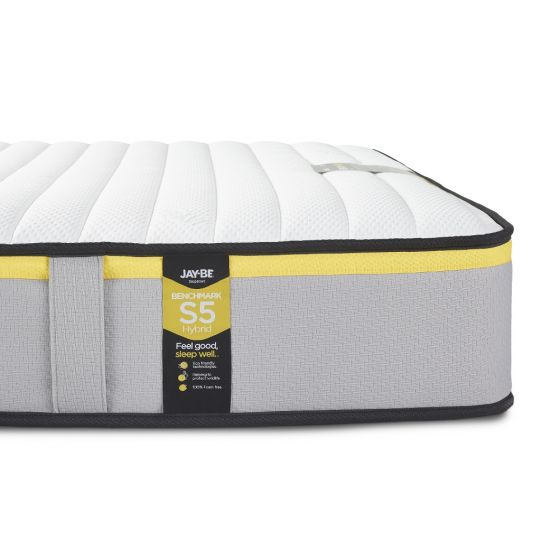 Jay-Be Benchmark S5 Hybrid Pocket Spring Mattress