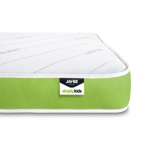 Jay-Be Simply Kids Foam Free Anti-Allergy Spring Mattress from £84.99