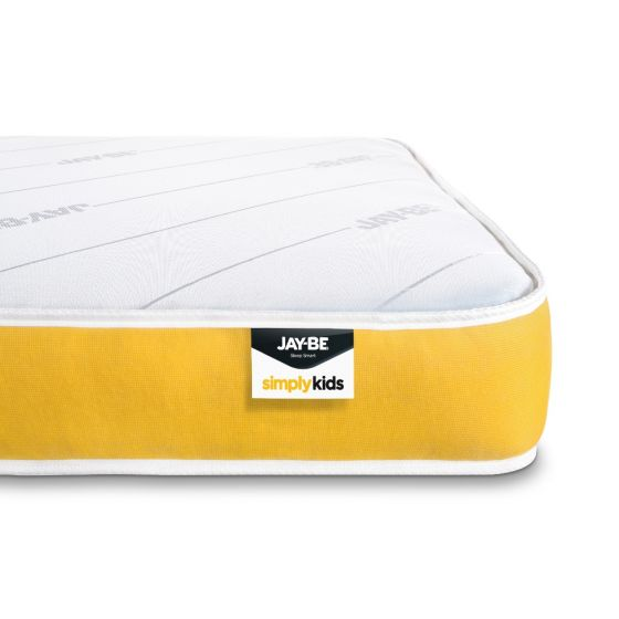 Jay-Be Simply Kids Foam Free Anti-Allergy Pocket Spring Mattress - 3ft Single (90 x 190 cm)