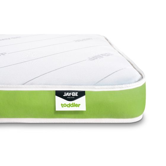 Jay-Be Toddler Foam Free Anti-Allergy Spring Mattress – 70 x 140 cm for £79.99