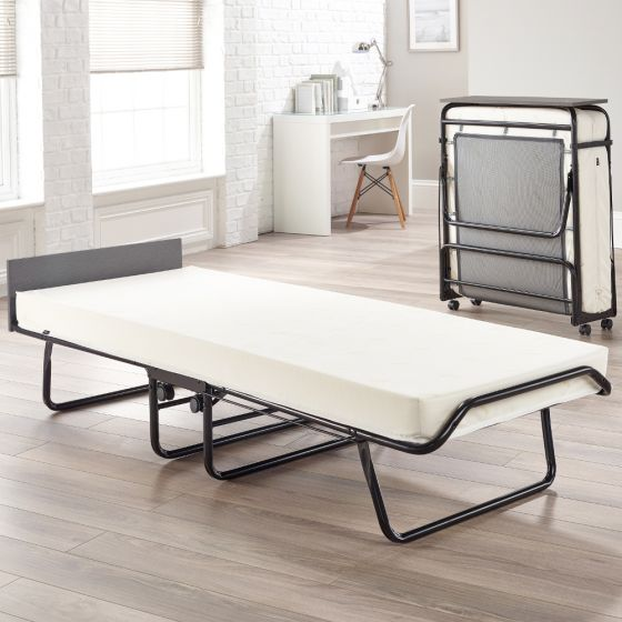Jay-Be Visitor Contract Folding Bed with Performace Mattress - 2ft6 Small Single