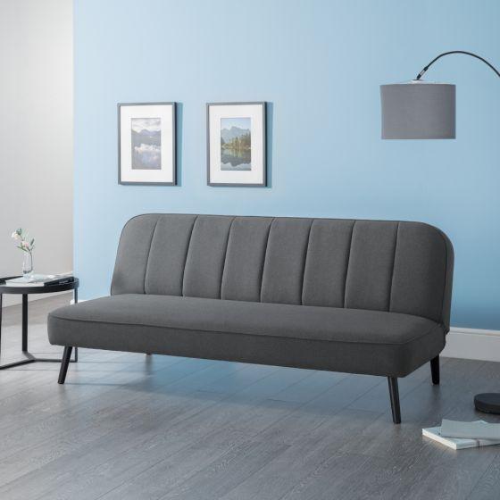 Miro Grey Fabric Sofa Bed