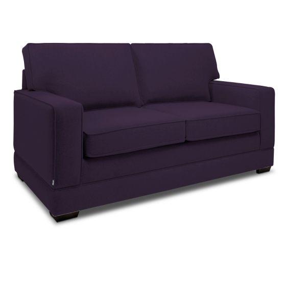 Jay-Be Modern Aubergine 2 Seater Sofa Bed
