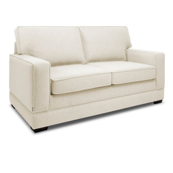 Jay-Be Modern Cream 2 Seater Sofa Bed