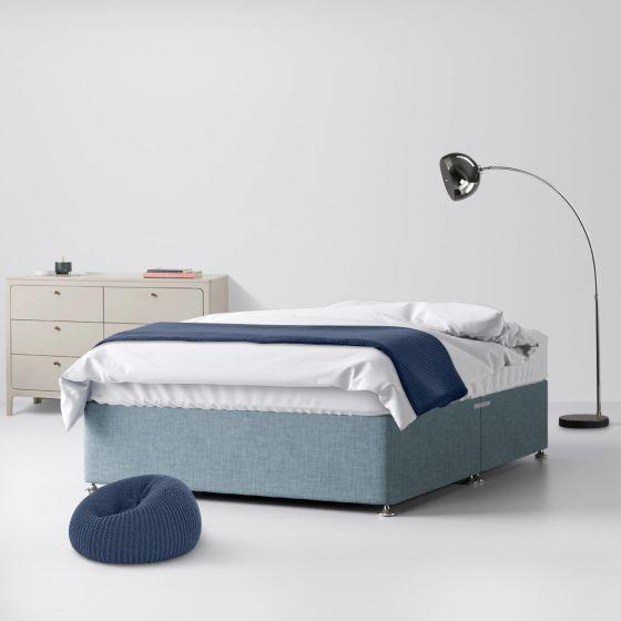 Classic Duck Egg Fabric Divan Bed