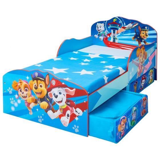 Paw Patrol Toddler 2 Drawer Storage Bed