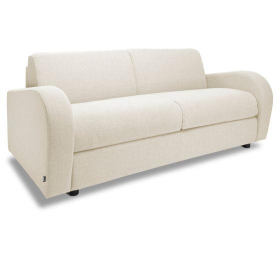 Jay-Be Retro Cream 3 Seater Sofa Bed