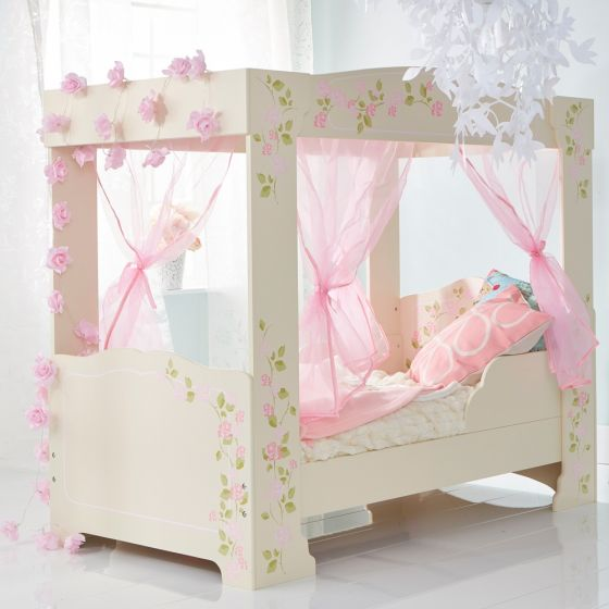 Rose 4 Posters Toddler Bed