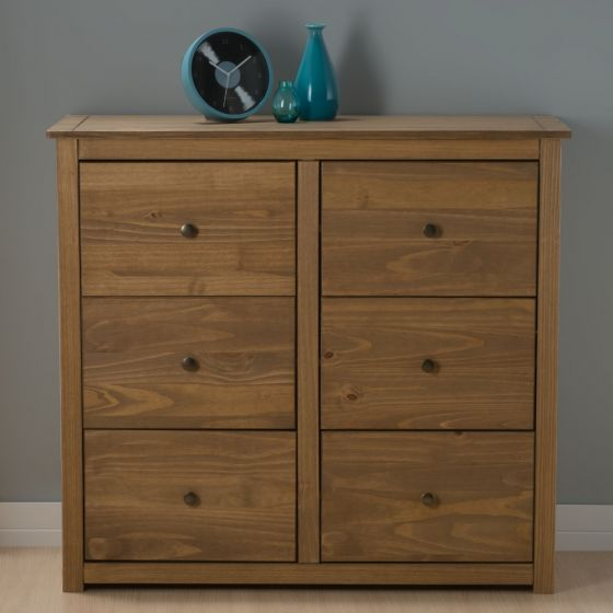 Santiago Pine 6 Drawer Chest