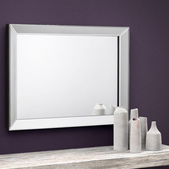 Soprano Rectangular Glass Wall Mirror - 60 x 80 cm