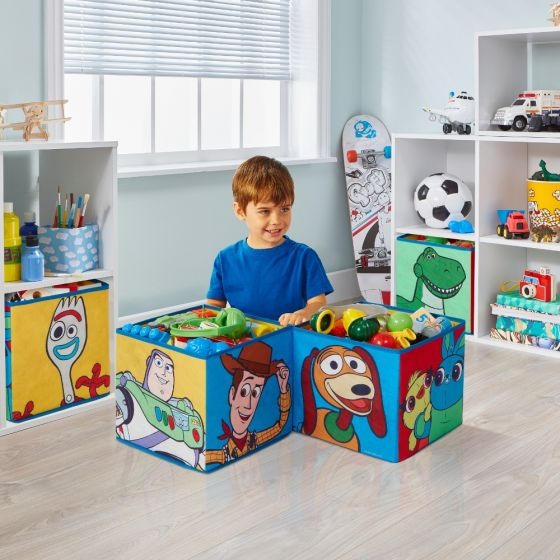 Toy Story 4 Fabric Storage Cubes