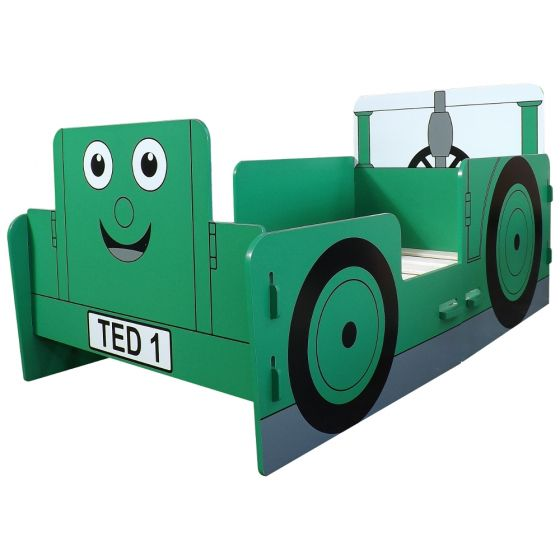Tractor Ted Green Junior Toddler Bed