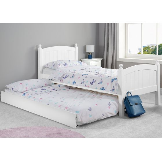 Whitehaven White Wooden Guest Bed