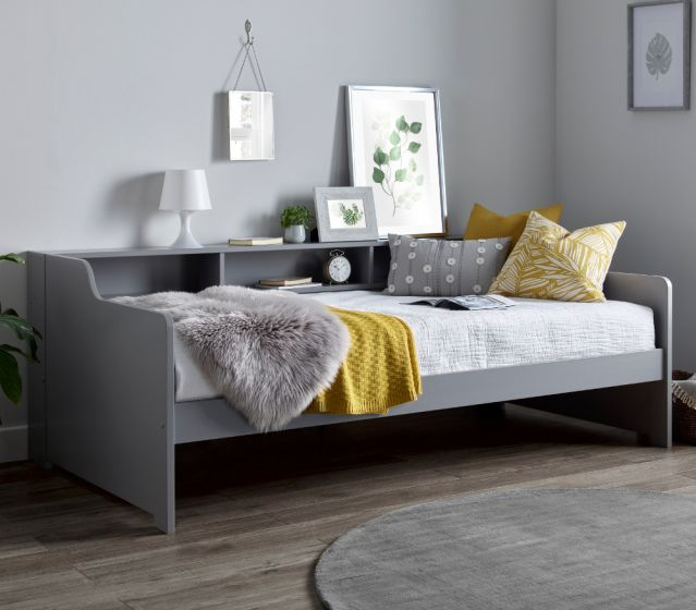 Tyler Grey Wooden Day Bed