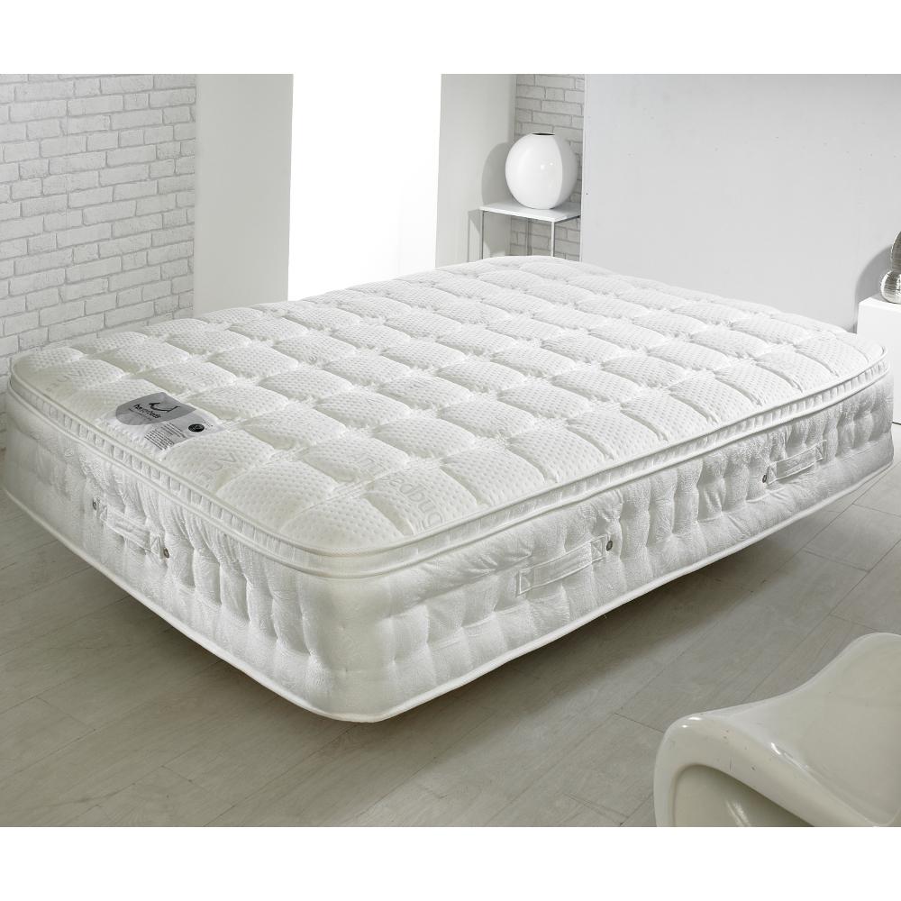 Bed Bug Mattress Cover.Anti Bed Bug 1500 Pocket Sprung Memory Latex And Reflex Foam Pillow Top Mattress