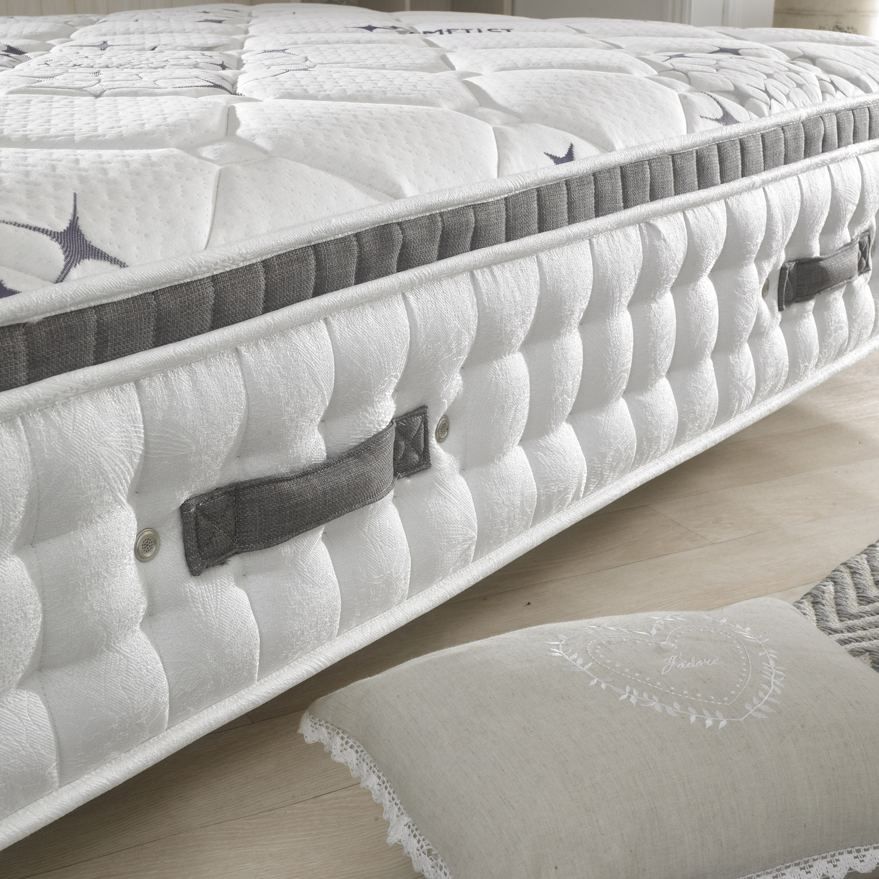 Happy Beds Ametist Crystal 2500 Pillowtop Mattress
