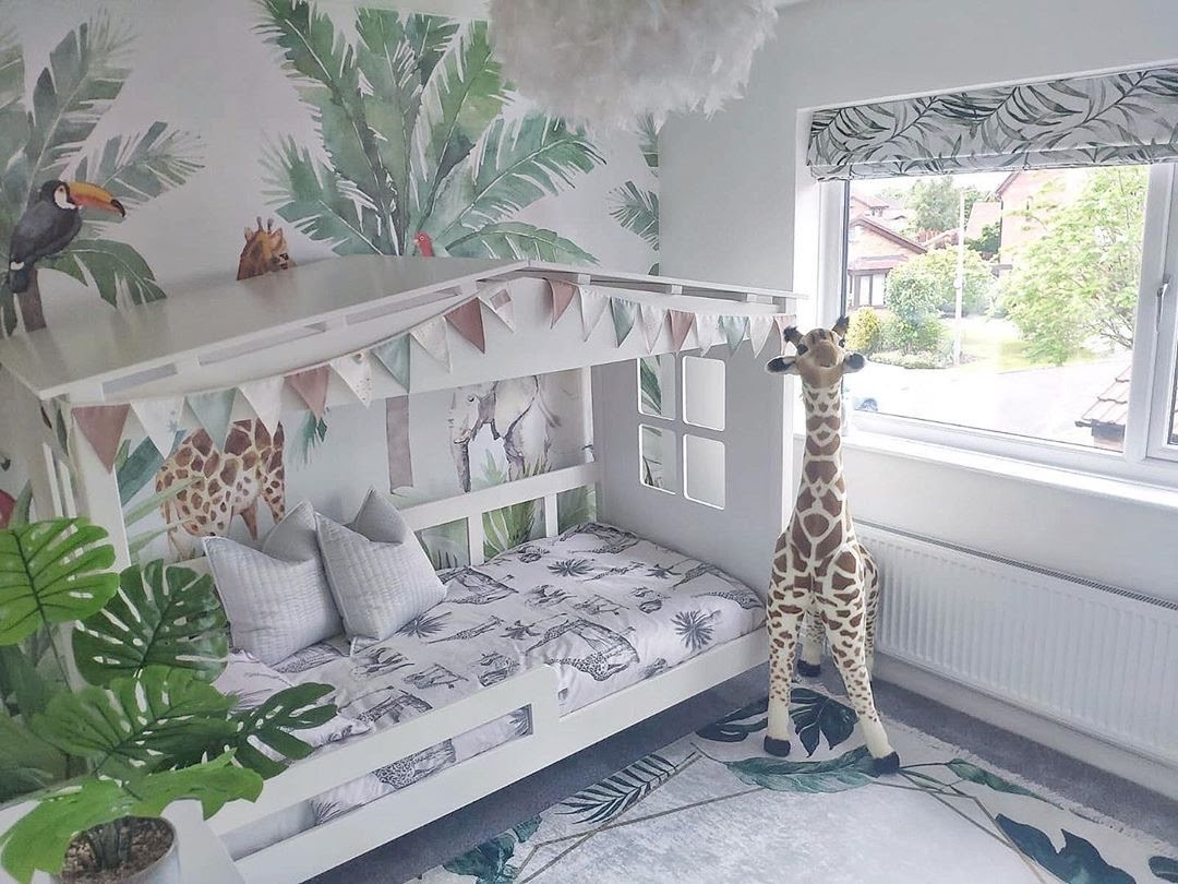 How To Create Your Child A Jungle Themed Bedroom