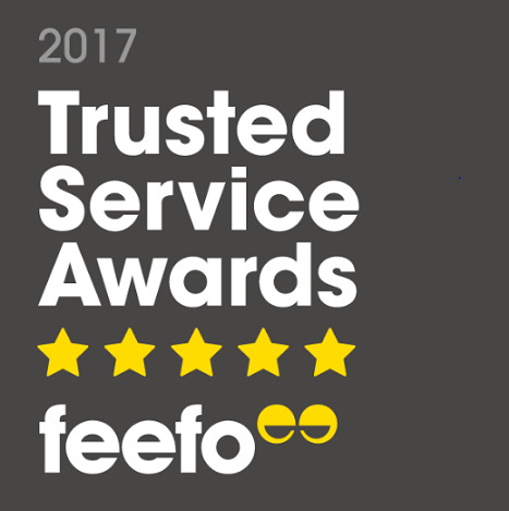 Happy Beds Wins the Fabulous Feefo Trusted Service Award