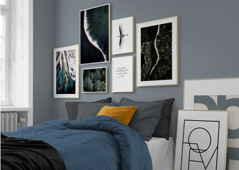 5 Tips for Choosing and Displaying Artwork in the Bedroom