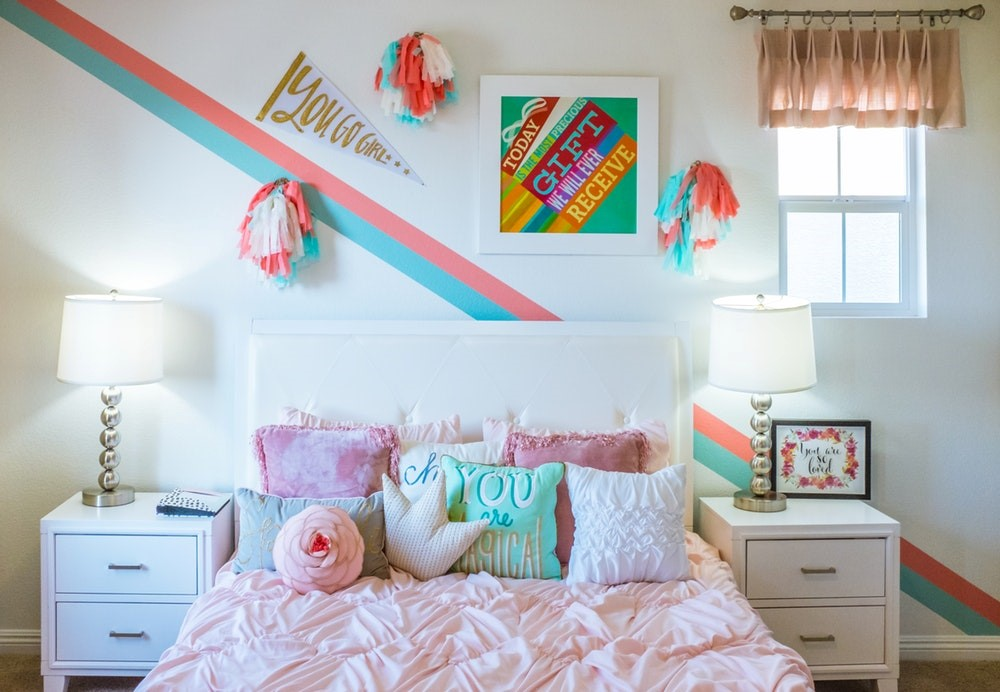 How to Transform Your Child's Bedroom During the School Summer Holidays