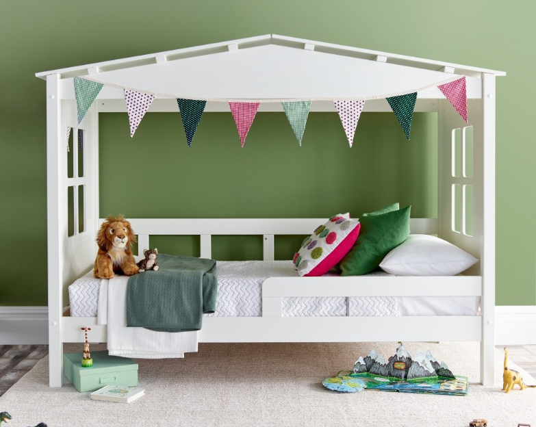 Happy Beds Mento White Treehouse bed