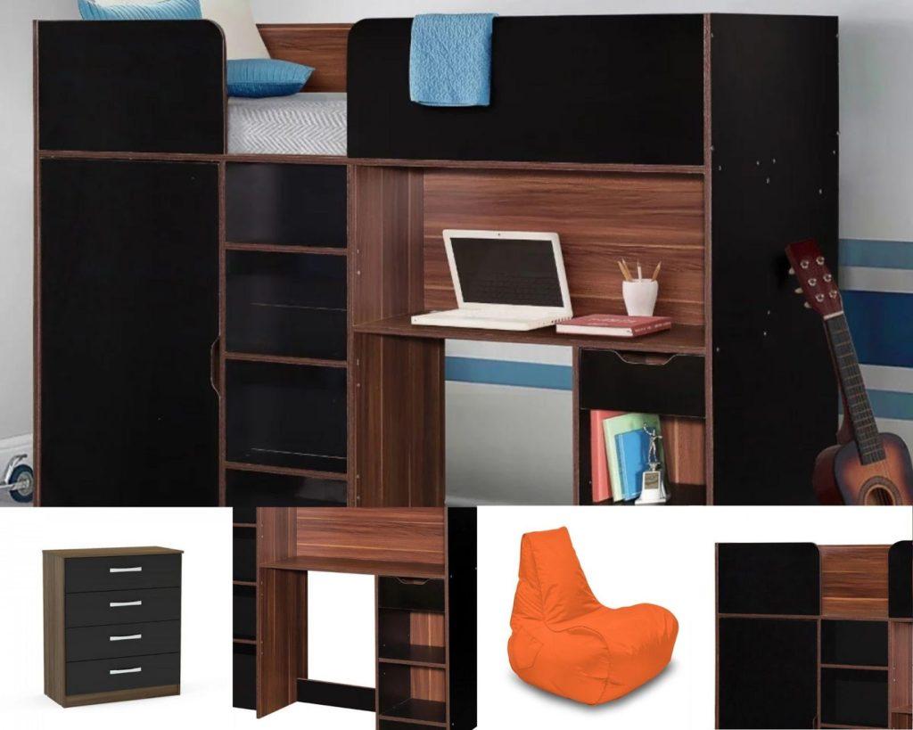 Happy Beds Teenager Bedroom Furniture