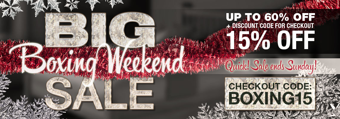 Boxing Weekend Sale!