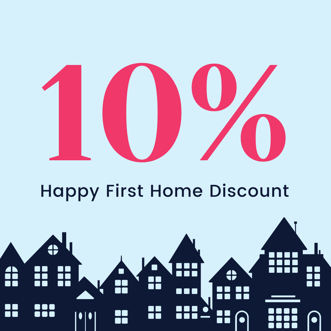 10% Off Graphic for First Time Buyers